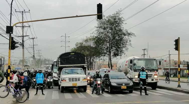 Bogotá tendrá a partir de hoy 'Gerencia en Vía' un grupo que gestionará y mejorará la movilidad en la ciudad