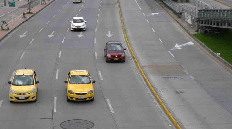 Este miércoles 19 de mayo, taxis y vehículos particulares podrán circular sin restricción por Pico y Placa en Bogotá
