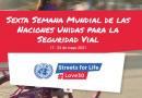 Gobierno Nacional, Bogotá, Cali y la OPS se unen al pedido global por velocidades seguras en la Sexta Semana Mundial de la ONU para la Seguridad Vial