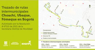 Secretaría Distrital de Movilidad autoriza el trazado de rutas intermunicipales por el corredor Bogotá-Choachí