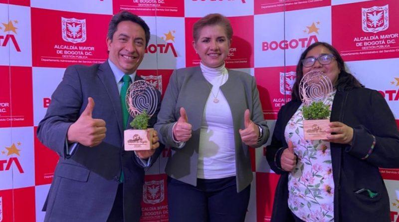 Reconocimiento distrital en buenas prácticas al Jardín Botánico de Bogotá